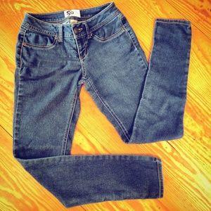🌼SO🌼 Skinny Jeans w/ Contrast Stitching